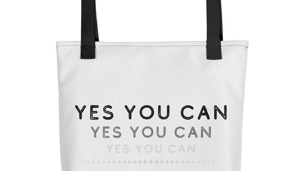 YES YOU CAN - Tote bag