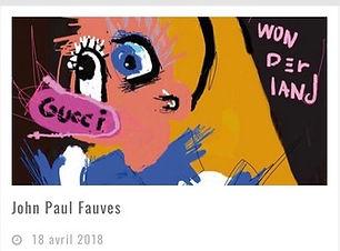 John Paul Fauves | artravel