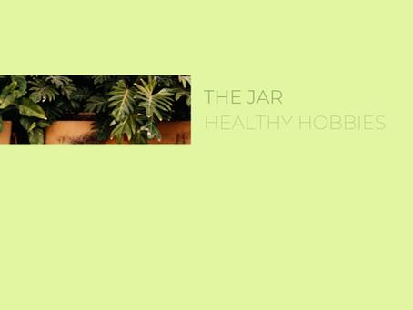 Healthy hobbies with The Jar - Healthy Vending team