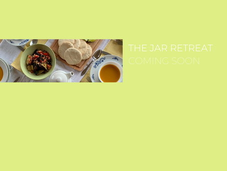 The Jar Retreat Coming Soon