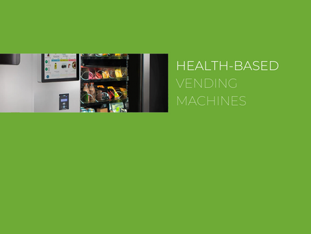 Want a way to look after your workforce? The benefits of health-based vending machines