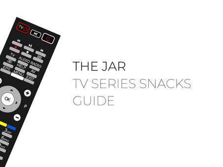 The Jar - Healthy Vending alternatives to match snacks from your favourite TV series.