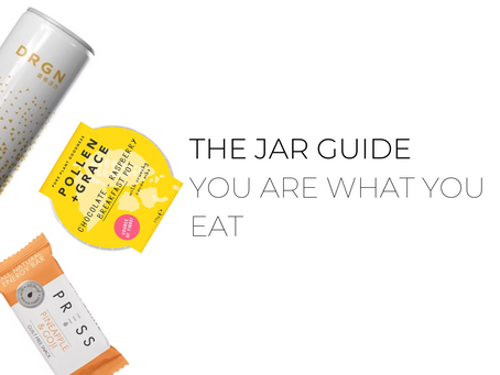 You are what you eat guide from The Jar - Healthy Vending
