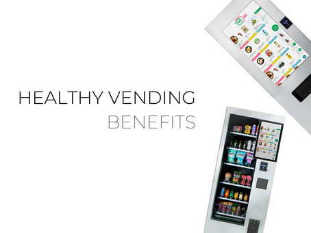Why you should install healthy vending machines in the workplace