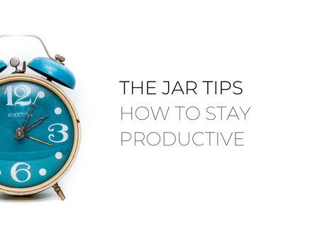 How to stay productive with the Jar Healthy Vending