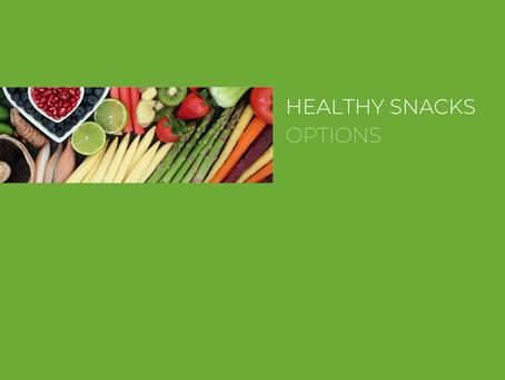 Healthy vending machine options?