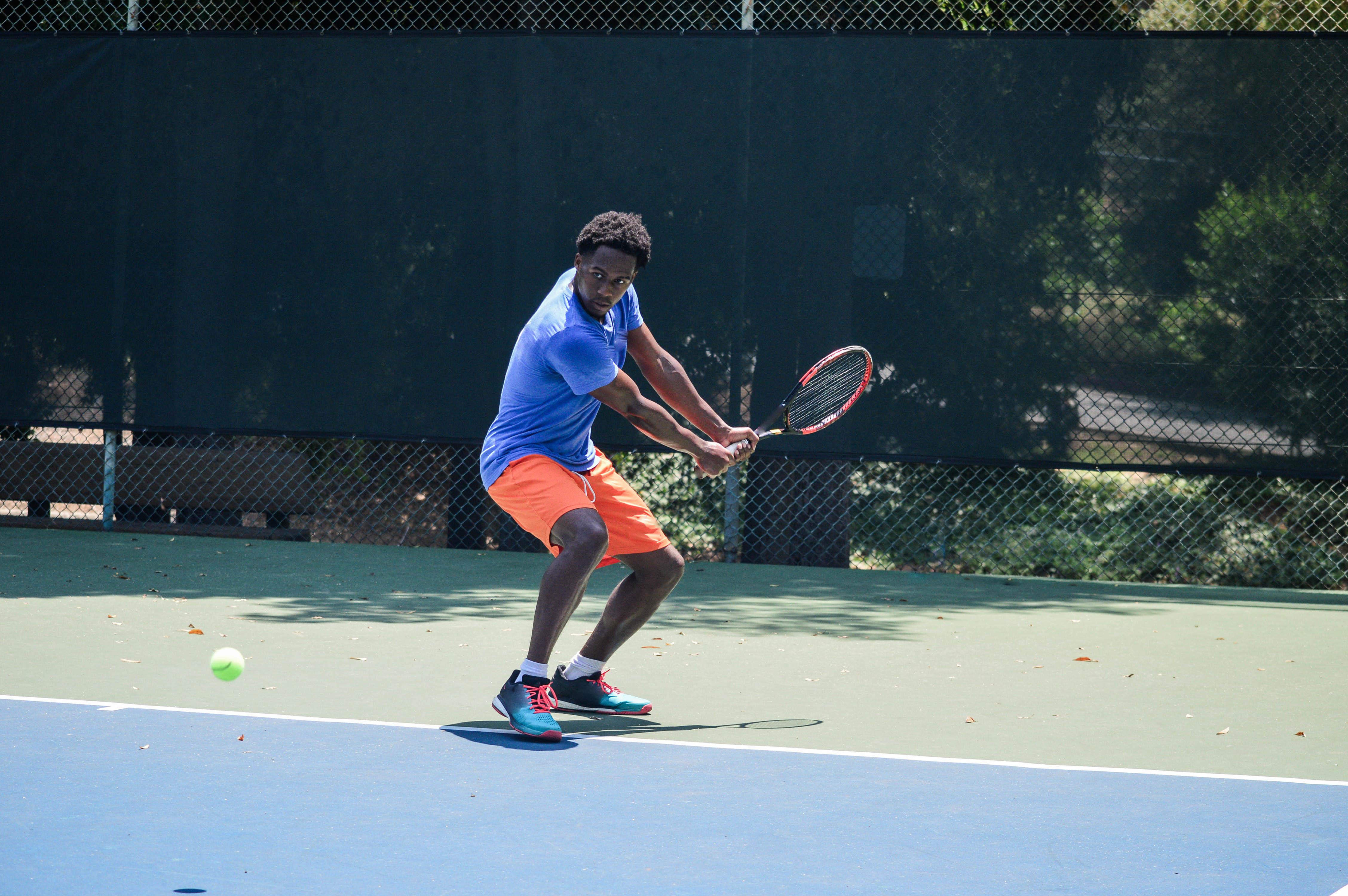 Tennis in summer in Los Angeles