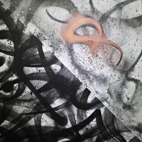 Size : 900mm*900mm Medium : Acrylic On Linen Canvas Loacation : Germany