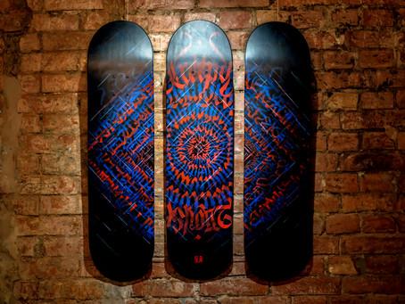 Skateboard painting - Remine
