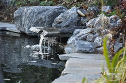 Vijver waterval