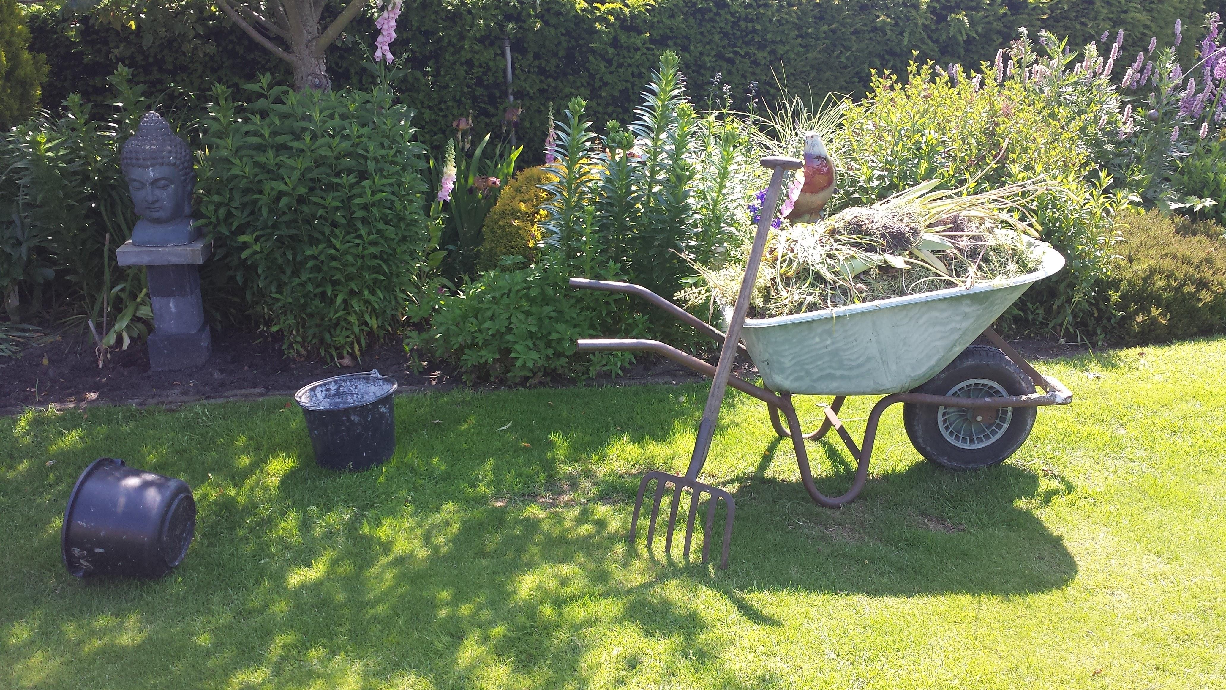 opknappen bestaande tuin