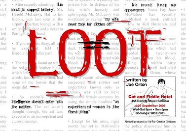 Loot by Joe Orton