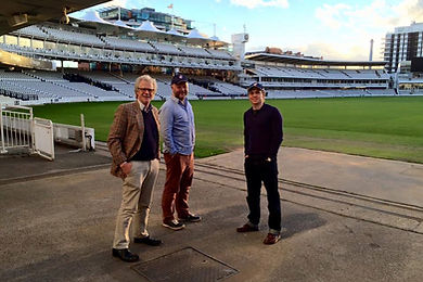 Writer, Director and Actor at Lords.