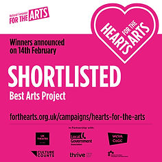 Best Arts Project - Hearts for the Arts