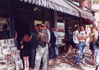 Co-op original store front, 1985