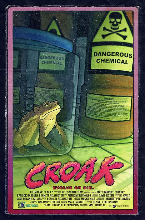 croak movie poster