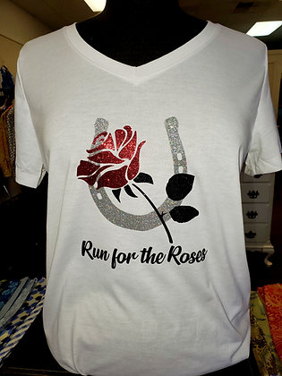 Run for The Roses Tee