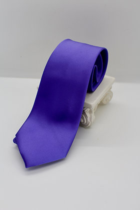 Silk Purple Tie