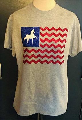 Americana Saddlebred T Shirt