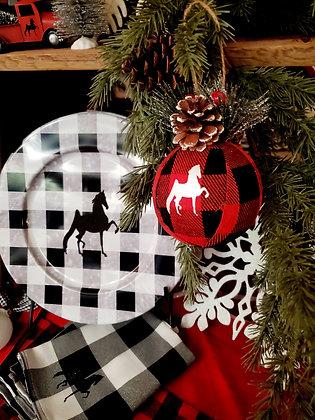 Buffalo Check Ornament