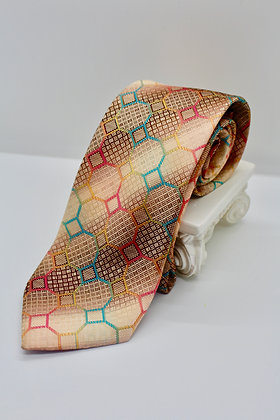 Copper & Rainbow Tie