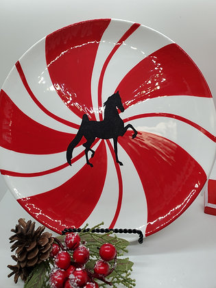 """10"""" Peppermint Plate"""