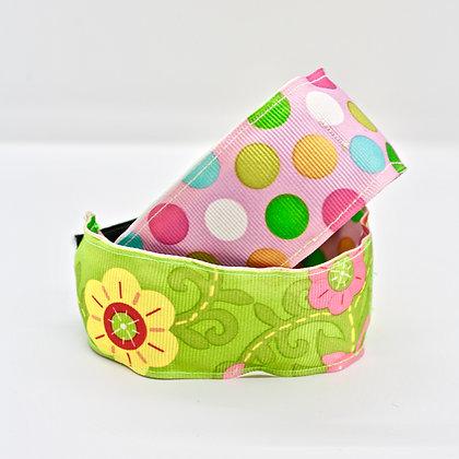 Floral & Polka Dot Cuffstrap