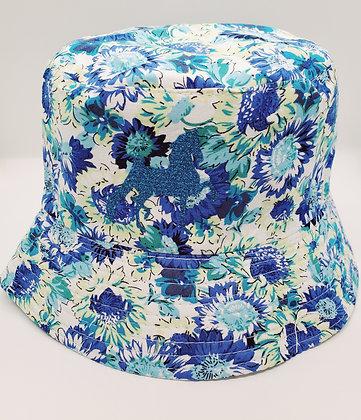 Blue Saddlebred Bucket Hat