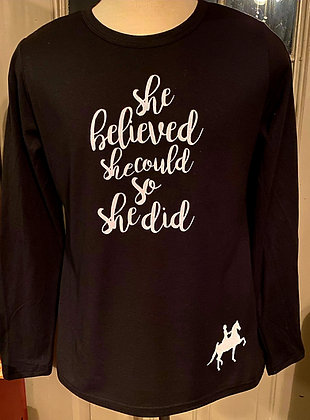 Powerful Words Collection- She Believed