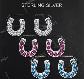Horseshoe Earring Set of 3
