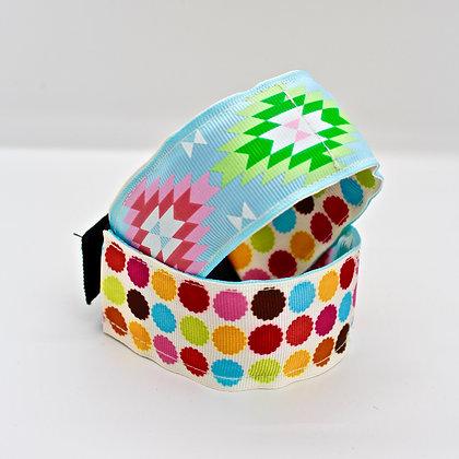 Polka Dot & Aztec Cuffstrap