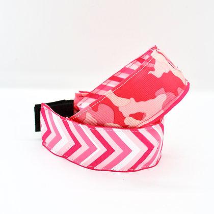 Pink Chevron & Camo Cuffstrap