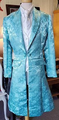 Scintilla Custom Daycoat  Aqua Rose