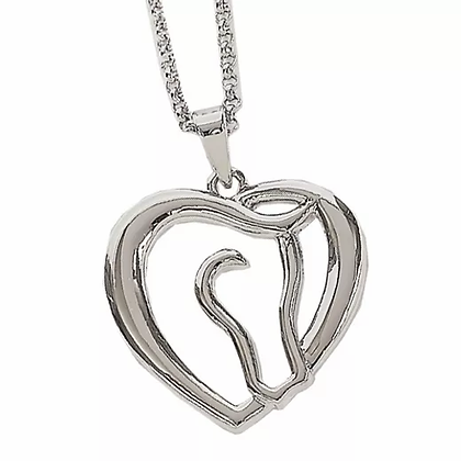 Horse Heart Necklace