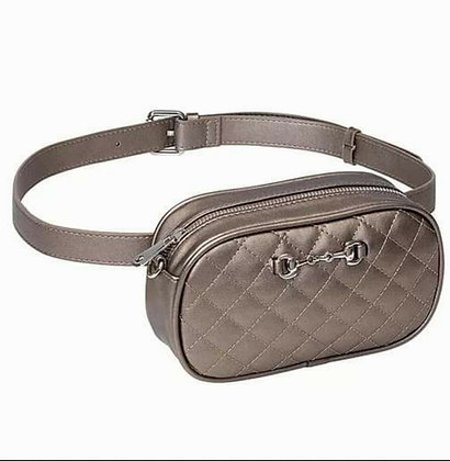 Snaffle Bit Quilted Fanny Pack/Crossbody Bag
