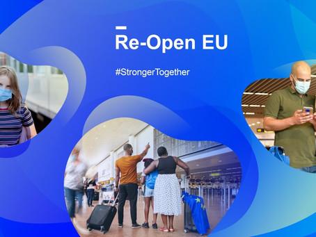 RE-OPEN EU, VIAGGIARE SICURI IN EUROPA