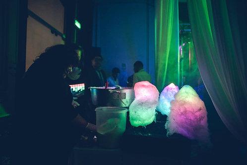 100 Algodón de azúcar LED