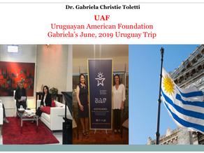 Gabriela in Uruguay. June 2019 Trip