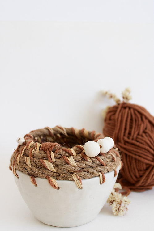 o vaso vaidoso vestido de lã | peça exclusiva modalisboa
