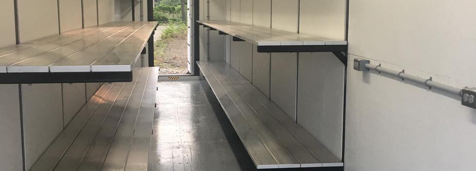 Sail Storage Racks