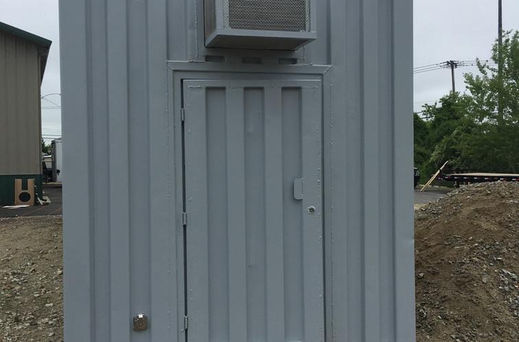 Personnel Door with AC