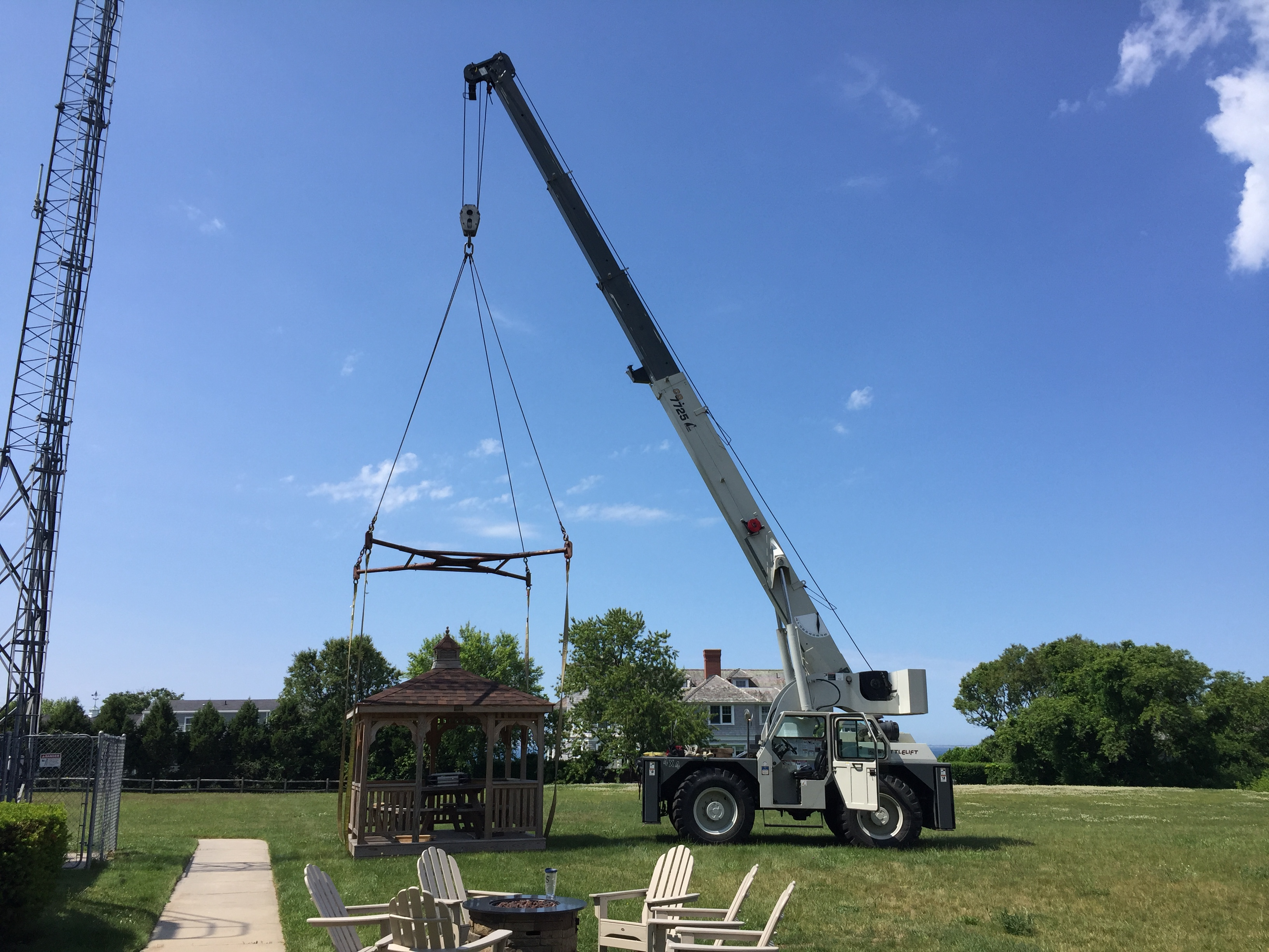 Rigging spreader bar crane