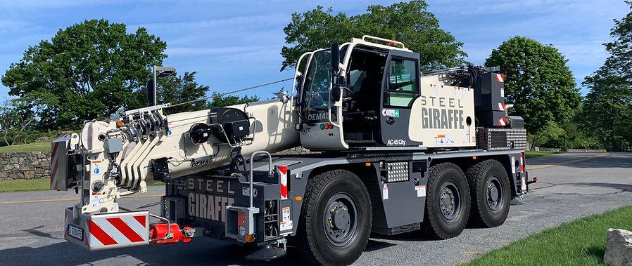 Steel Giraffe Crane Rental Service