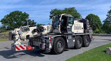 Crane Rental Service in Newport RI
