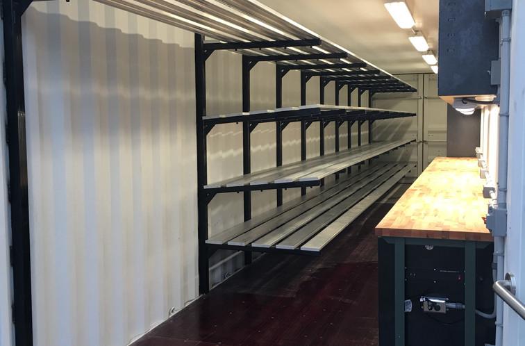 4 tier floating shelves