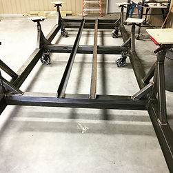 metal boat cradle welding & fabrication
