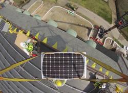 Solar panel crane company