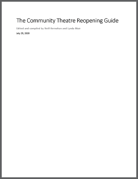 The Community Theatre Reopening Guide_Pa