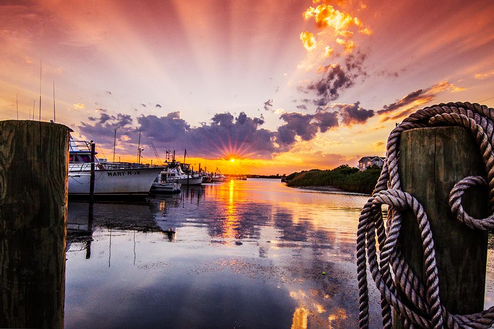 sunset Barnegat Light