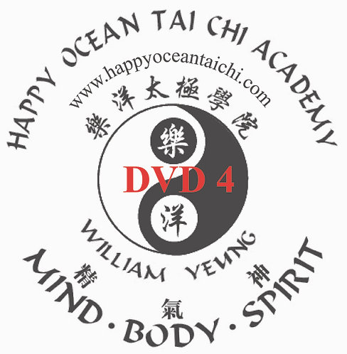 DVD 4 Yang Style 64 Forms Interpreted by William Y